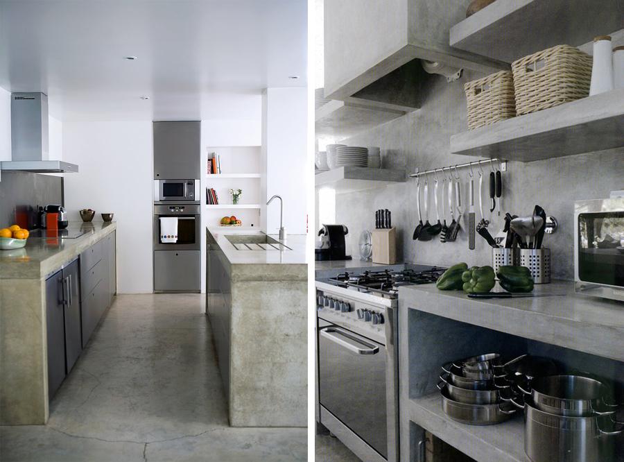 Piano Cucina In Cemento. Cheap Top Piano Cucina Prezzi Le ...